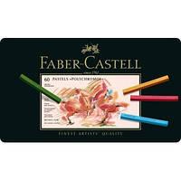 Пастель FABER CASTELL POLICHROMOS 60 цв. в метал. коробке