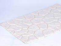 Набор ковриков  для ванной Irya Stone 70x120 см+45x60 см. кремовый