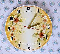 Часы настенные Золотой барвинок