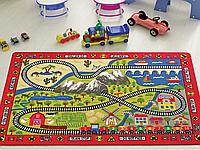 Коврик в детскую комнату Confetti Railway 100*150