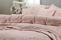 Набор постельного белья с покрывалом Pike Karaca Home Beren пудра