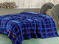 Покрывало Marie Claire Ecossais темно-синее 150*200