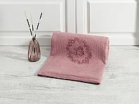 Вафельное покрывало Eponj Home Angelo розовое 200*235