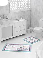 Набор ковриков для ванной Marie Claire Bonjour 57*100 + 57*57 см.