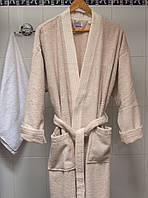 Махровый халат Deco Bianca 52002 V2 бежевый L/XL