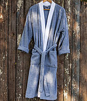 Махровый халат Deco Bianca 52003 V1 голубой S/M