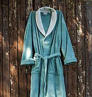 Махровый халат Deco Bianca 52005 V 1 бирюзовый S/M