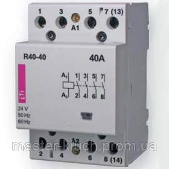 Контактор 40A ETI R 40-22