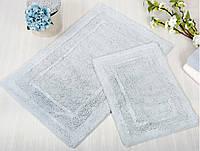 Набор ковриков для ванной Irya - Superior mavi голубой 60*90+40*60