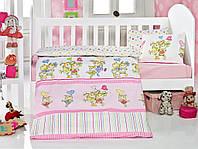 Детское постельное белье для младенцев Eponj Home Pitircik розовое