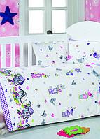 Детское постельное белье для младенцев Eponj Home Kuslar лиловый