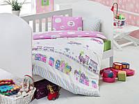 Детское постельное белье для младенцев Eponj Home Tren Pembe