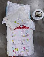 Подростковое постельное белье Karaca Home Fanya розовое