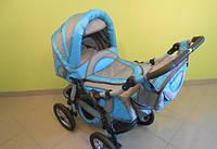 Детская коляска зимне-летняя с надувными колесами