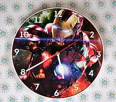 Часы настенные Железный человек