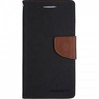 Чехол-книжка Book Cover Goospery Meizu M3 Note Black (застежка; карман для пластиковых карт, функция подставки