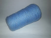100% акрил, цвет голубой с ворсой, 4 сложения вес 0.135