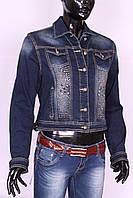 Женский джинсовый жакет Gallop (код 7088)