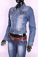 Стильный женский джинсовый пиджак Re-Dress (код 006)