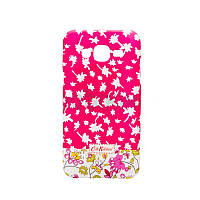 Накладка Silicon Case Cath Kidston Samsung A510 (A5-2016) Pink Фосфорная