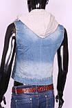 Жилет жіночий джинсовий Dzire (код 922) розмір -M., фото 2