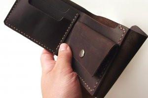 """Чоловічий гаманець """"Dua"""" ручної роботи"""