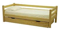 Деревянная детская кровать Бэйби 1+1
