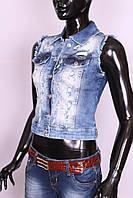 Стильный жилет женский джинсовый ITS (код 159)