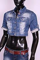 Болеро джинсовое женское ITS (код 344)