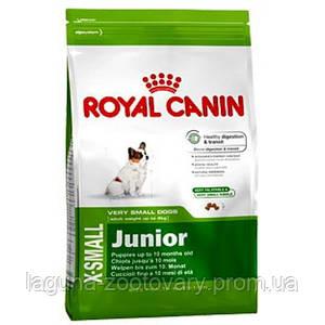 Роял Канин X-Small Юниор  3кг  для миниатюрных щенков до 10 мес