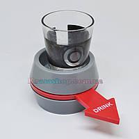 Алко-рулетка с рюмкой и коробкой. Shot spinner