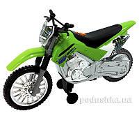 Мотоцикл Kawasaki KLX 140 Moto-Cross Bike 25 см Toy State 33412