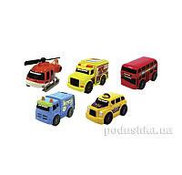 Набор машинок Городской транспорт 5 шт Toy State 41402