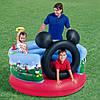 Детский надувной игровой центр Микки Маус Bestway 91012 (152х130 см.)