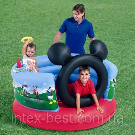 Детский надувной игровой центр Микки Маус Bestway 91012 (152х130 см.), фото 2