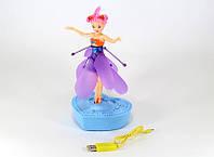 Летающая кукла-фея TOY Fly Fairy AQ 0858, интерактивная игрушка-кукла, волшебная летающая фея
