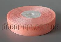 Лента органза оттенок персиковый 2 см 50ярд арт 07
