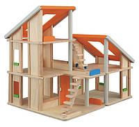 """Деревянная игрушка """"Кукольный домик Шале без мебели"""", PlanToys"""