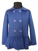 Пиджак для девочек 128,140,152,164 роста Василёк