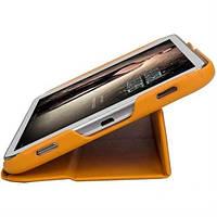 "Ультратонкий кожаный чехол-книжка Jisoncase для Samsung Galaxy Tab 3 8""."