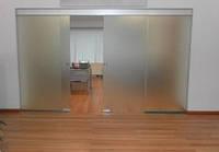 Межкомнатные стеклянные двери раздвижные.раздвижные двери в комнату из стекла.