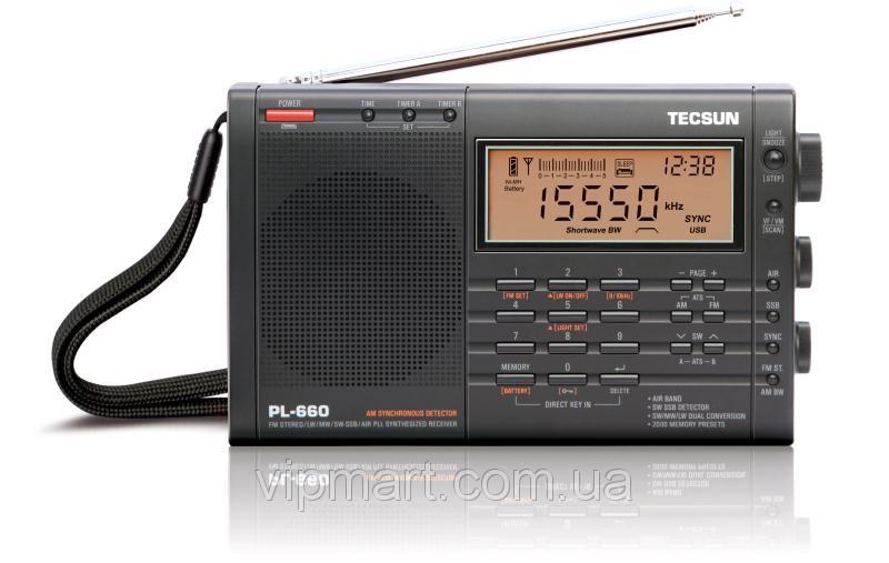 Радиоприемник TECSUN PL-660 - Интернет-магазин «VipMart» в Одесской области