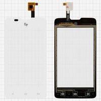 Сенсорный экран для мобильного телефона Fly IQ449 Pronto, белый, #TXC-TX-F50288-001-C-9218