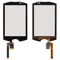 Сенсорный экран для мобильного телефона Sony Ericsson WT19, черный
