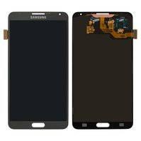 Дисплей для мобильных телефонов Samsung N900 Note 3, N9000 Note 3, N9005 Note 3, N9006 Note 3, серый, с сенсорным экраном