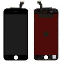 Дисплей  iPhone 6, черный, с рамкой, с сенсорным экраном, high-copy