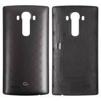 Задняя крышка батареи для мобильных телефонов LG G4 F500, G4 H810, G4 H811, G4 H815, G4 H818N, G4 H818P, G4 LS991, G4 VS986, серая