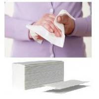 Бумажное полотенце (салфетка) - вкладыш, V - сложения, Natural, 160 листов