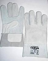 Перчатки рабочие замшевые серые