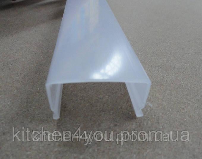 РСП прямоугольный рассеиватель матовый, поликарбонат для профиля ЛСО